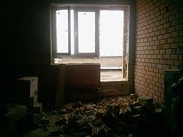 Прорезка балконных блоков
