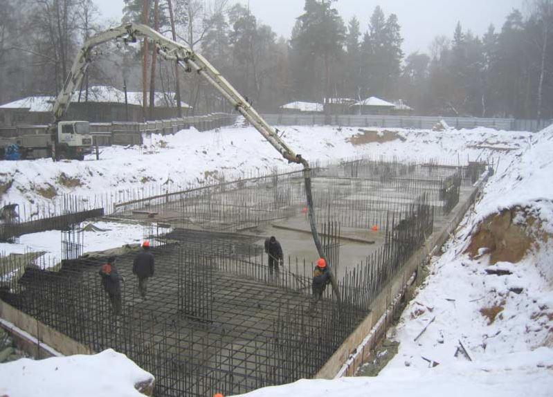 Зиму бетон как удалить бетон