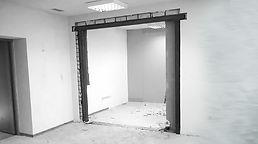 Прорезка дверных проемов