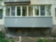 Подвесная конструкция балкона