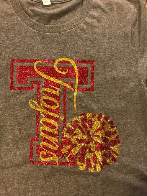 Trojans with T and pom pom!