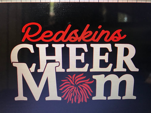 Redskins Cheer mom