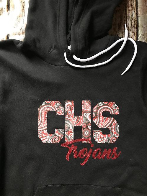 Charleston High School Hoodie, Black