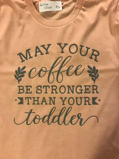 Coffee and toddler