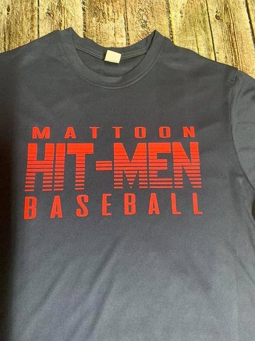 Hit-men Baseball dri-fit/performance t-shirt