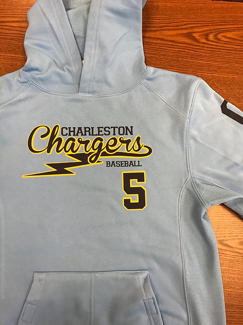 Chargers Performance hooded sweatshirt