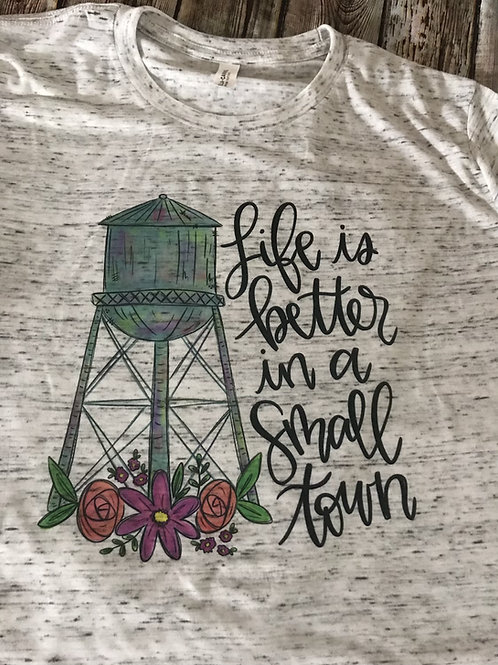 Better in a small town
