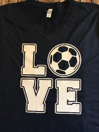 LOVE with soccer ball