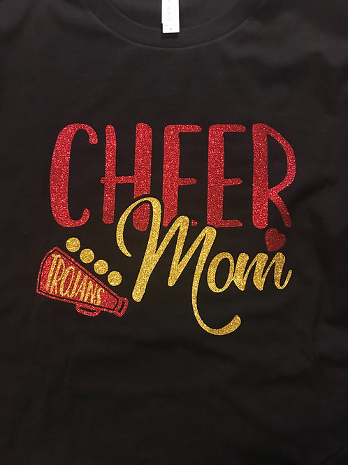 2018 CMS mom with megaphone sweatshirt