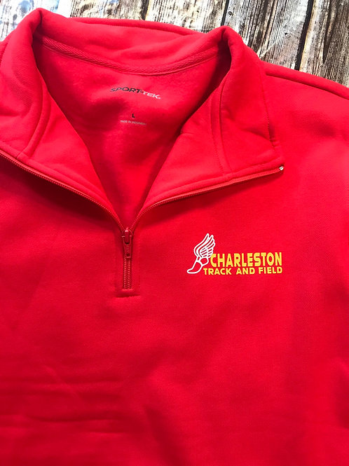 Track and field quarter zip