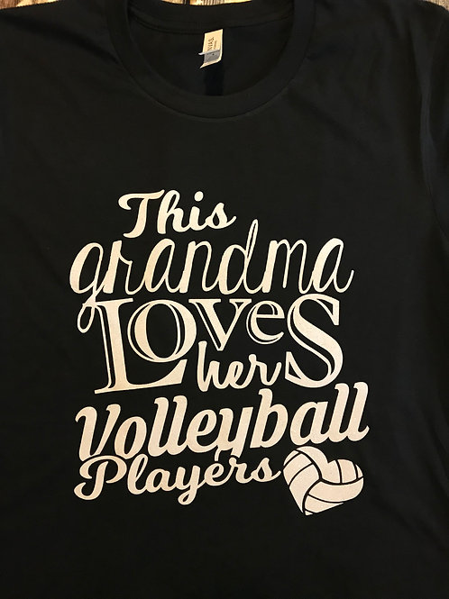 Volleyball grandma