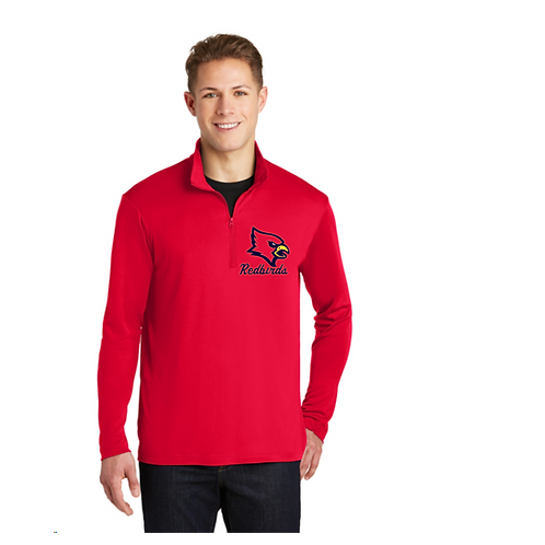 Dri fit Redbirds Quarter zip