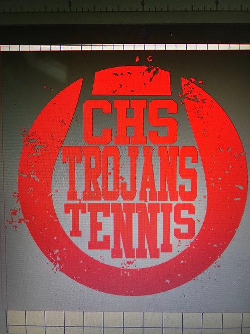 2018 Girls Tennis team shirt