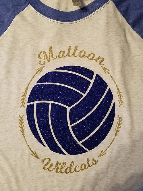 Team volleyball shirt