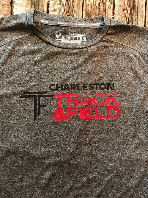 Champion track and field shirt
