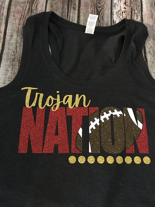 Trojan Nation tank top or t-shirt