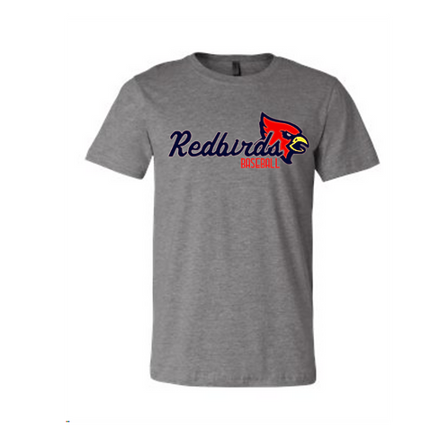 Redbirds Baseball  t-shirt grey