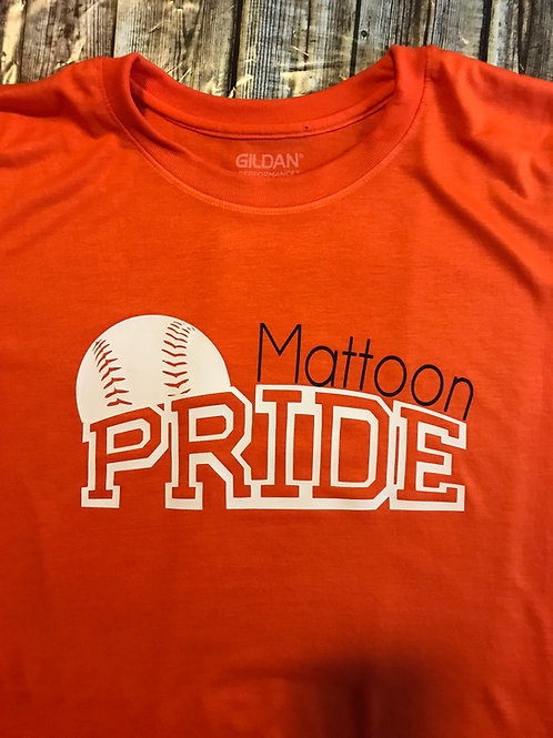 Mattoon Pride Orange T performance