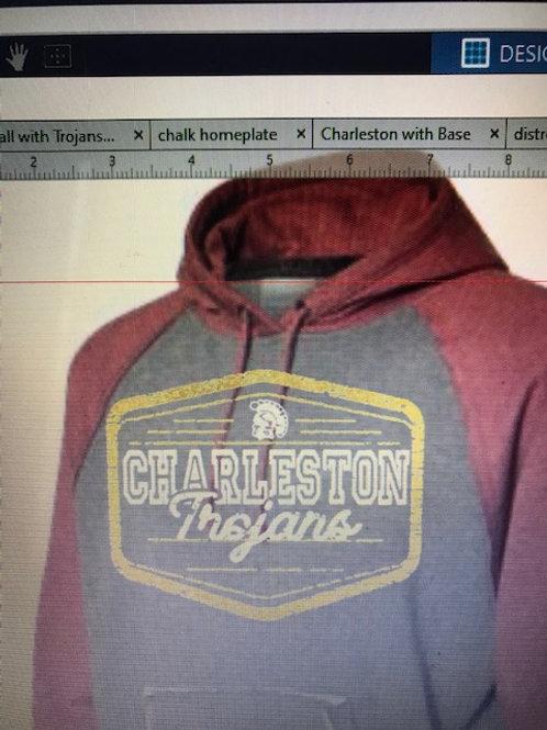 Vintage design Charleston Trojans