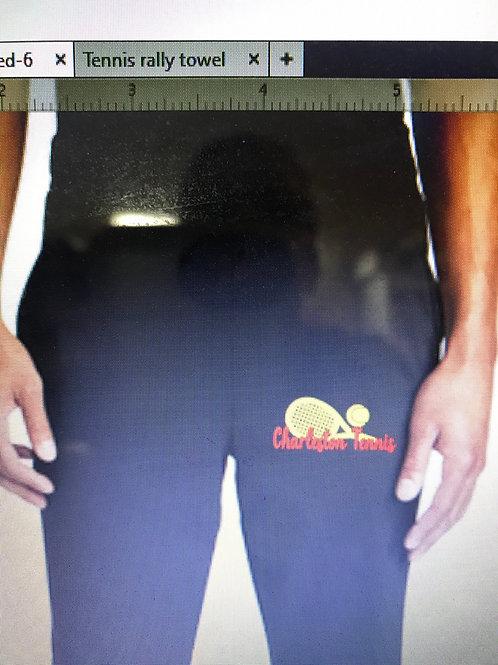 Girls tennis cotton sweatpants