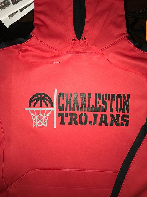 Charleston Basketball 2017-18 Red Hoodie
