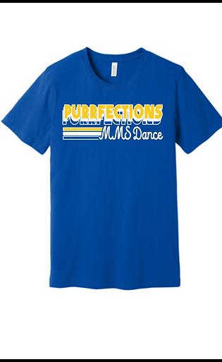 MMS Purrfections dance t-shirt