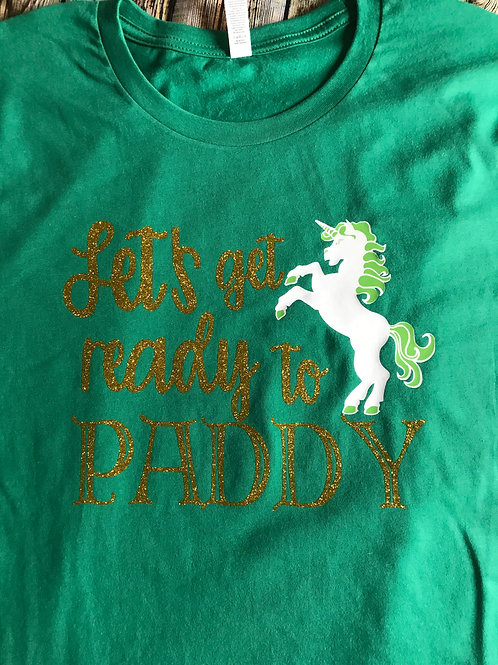 'Let's Get Ready to Paddy!'