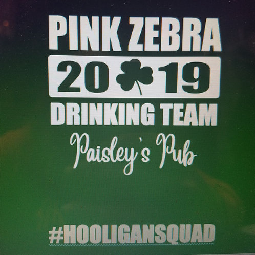 Pink Zebra drinking team