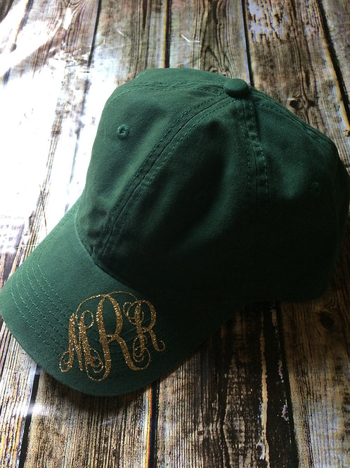 Monogrammed Cap- Personalized for you!