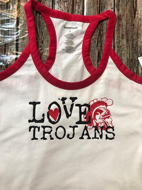 Love with Trojan head