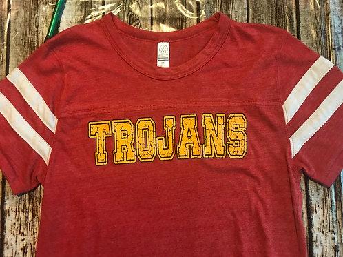 Ladies cracked Trojans
