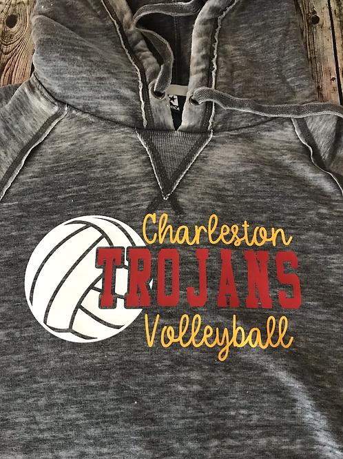 Charleston Volleyball t-shirt or hoodie