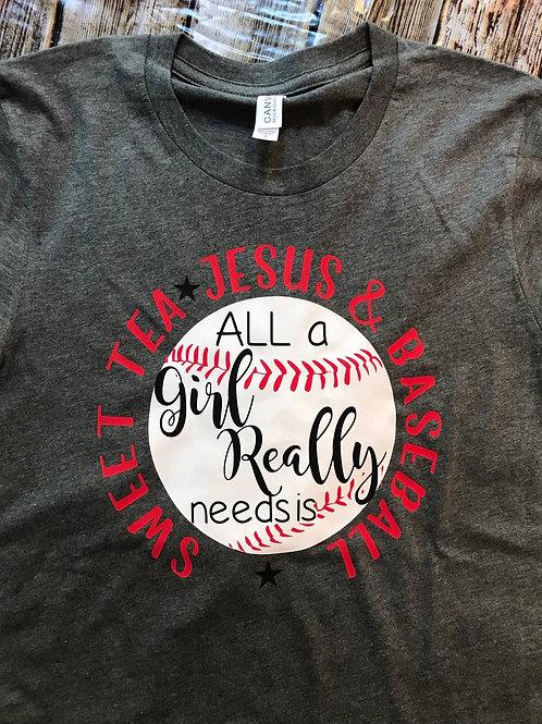 Sweet tea, Jesus and Baseball