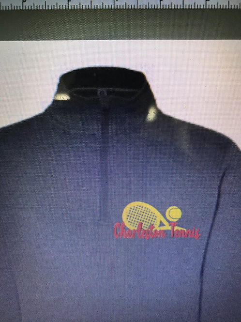 2020 Girls Tennis Quarter zip with pockets