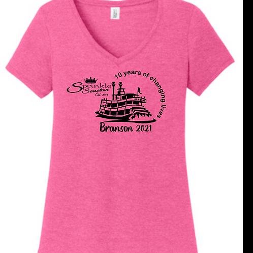 Pink Zebra Branson 2021 shirt