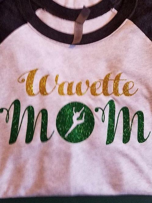 Wavette Mom Glitter Spirit T