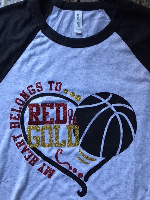 My heart belongs to the red an gold