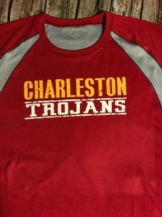 Distressed Charleston Trojans