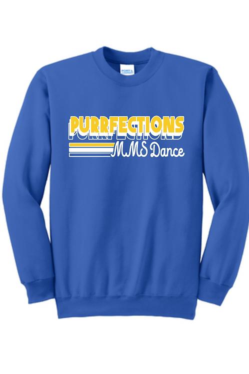 MMS Purrfections dance sweatshirt