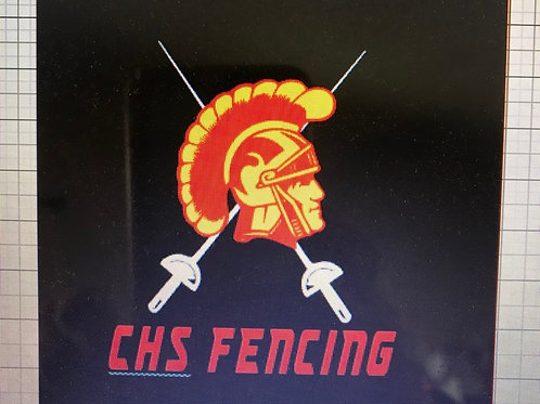 CHS fencing team sweatshirt 2019