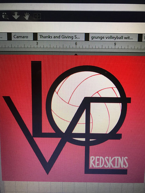 Love Redskin volleyball