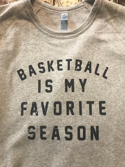 Basketball is my favorite season