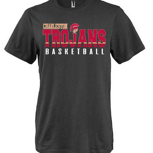 Charleston Trojans basketball shirt