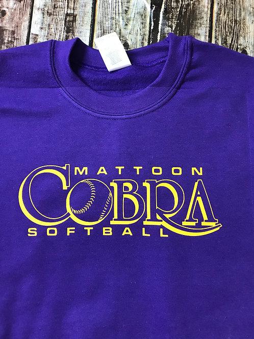 Cobra 2019 team sweatshirt purple