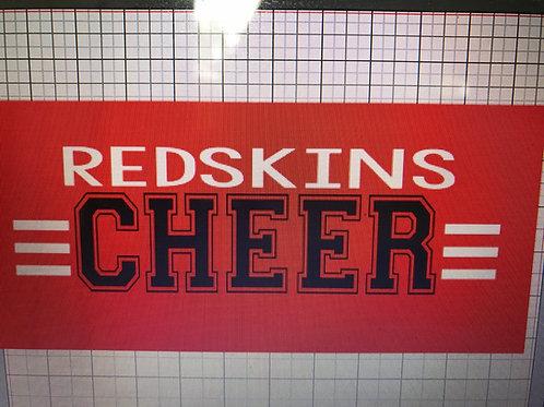 Redskins cheer