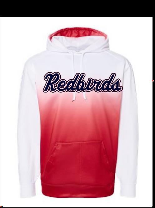 Redbirds Baseball Ombre sweatshirt
