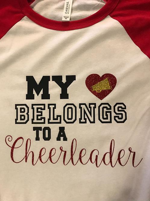 My heart belongs to a cheerleader