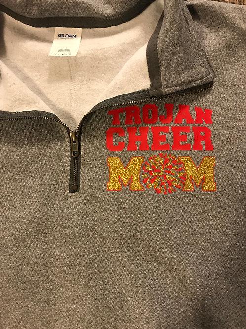 Cheer Mom quarter zip