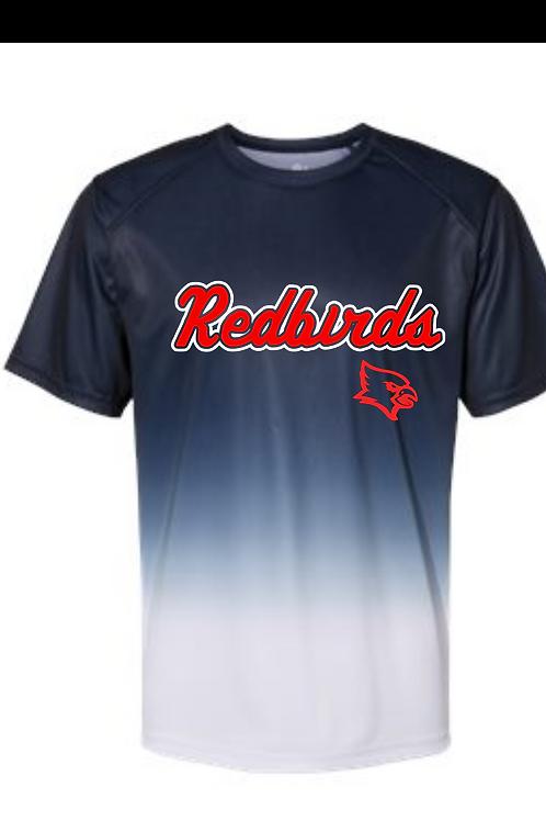 Redbirds Baseball Ombre t-shirt
