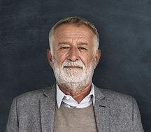 Portrait d'homme senior